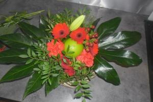 art floral,chandeleur